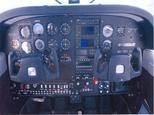 Interiér vrtuľníka