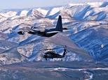 Vrtuľníky na horách
