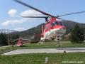 Odlet vrtuľníka Agusta A109K2
