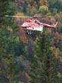Mi-8, jesenná ťažba, Podspády. Autor Pavol Svetoň