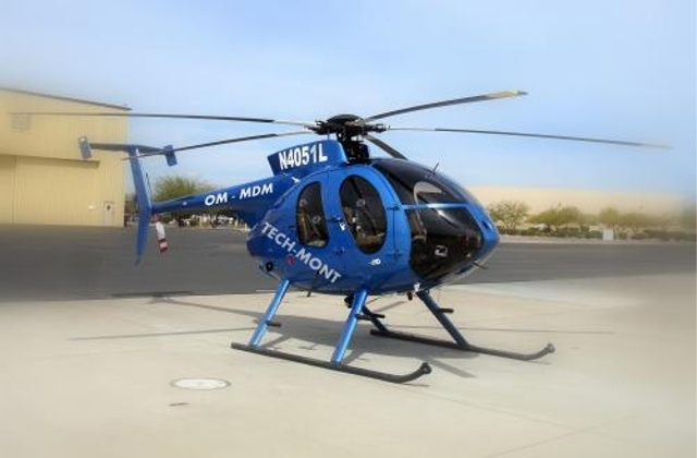 Hughes MD 530F, OM-MDM, N4051L, Techmont Helicopter Company, Techmont Helicopter Company