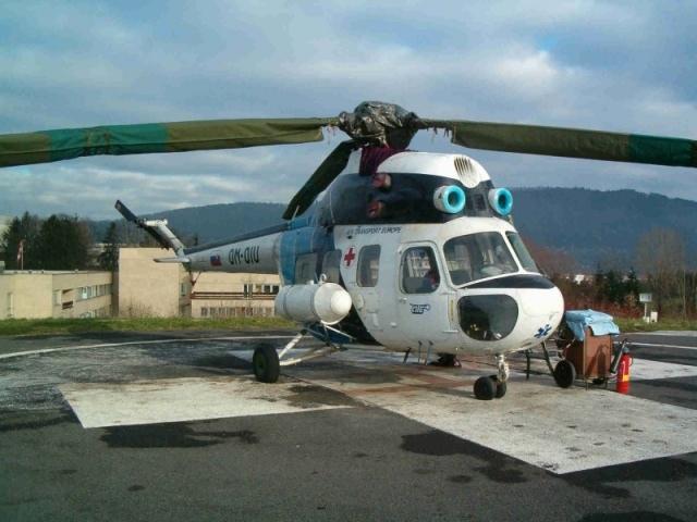 PZL-Swidnik (Mil) Mi-2, OM-OIU, 529012124, Air Transport Europe, s.r.o., Air Transport Europe, s.r.o.