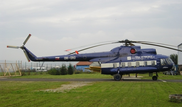 Mil Mi-8P, OM-ORO, 10448, TECH-MONT helicopter company, s.r.o., TECH-MONT helicopter company, s.r.o.