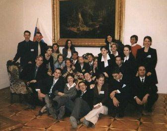 Báseň: AIESEC Len tak 1999
