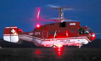 Kamov Ka-32 spoločnosti Heliswiss