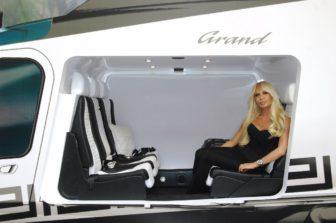 JETEXPO 2008: Ďalšia Versaceho helikoptéra pre Sergeja Shmakova