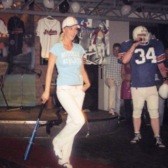 Nezverejnené foto Zuzany Belohorcovej - reklamná akcia Russell Athletic, Praha - foto archív EuroEkonóm.sk