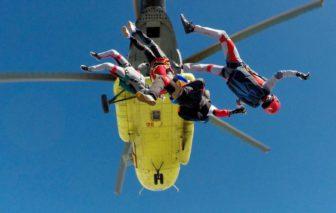 Skok z vrtuľníka