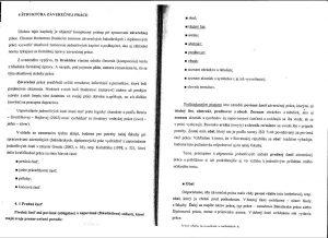 Diplomová práca - Metodika a technická norma 01
