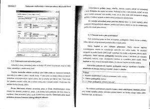 Diplomová práca - Metodika a technická norma 08