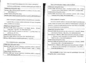 Diplomová práca - Metodika a technická norma 19