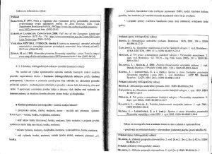 Diplomová práca - Metodika a technická norma 22