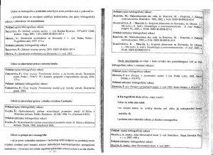 Diplomová práca - Metodika a technická norma 23