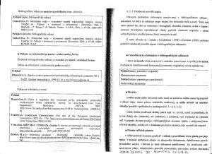 Diplomová práca - Metodika a technická norma 25