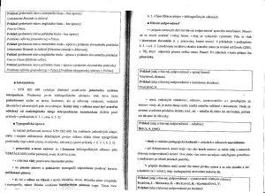 Diplomová práca - Metodika a technická norma 26