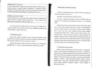 Diplomová práca - Metodika a technická norma 28