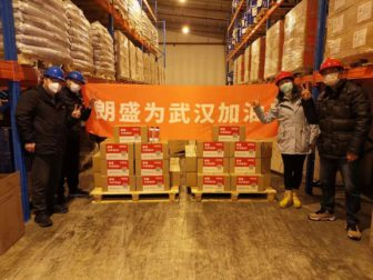 LANXESS daroval dezinfekciu proti koronavírusu nemocniciam v Číne