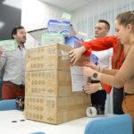 GEFCO prepravilo do Číny tvárové rúškapre kolegov z lokálnej pobočky