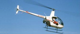 Vrtuľník Robinson R-22