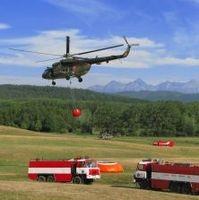 Hasenie požiaru v Slovenskom raji 2007
