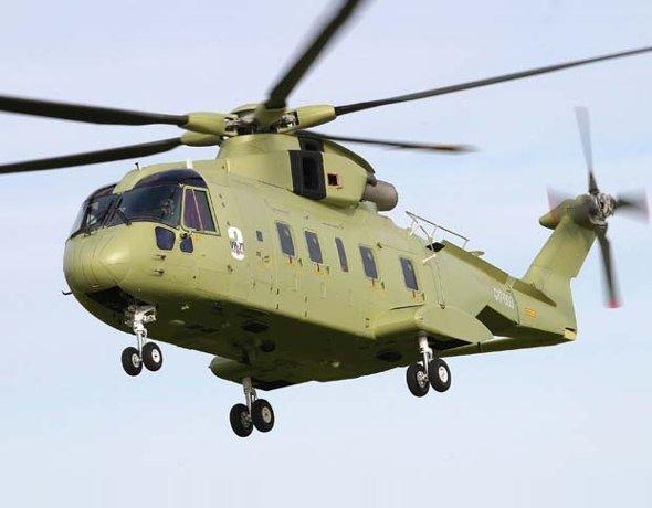 Vrtuľník AgustaWestland VH-71