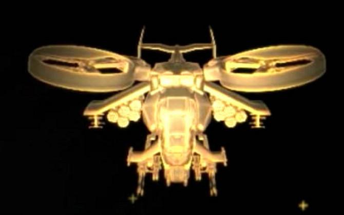 Vrtuľníky z filmu Avatar