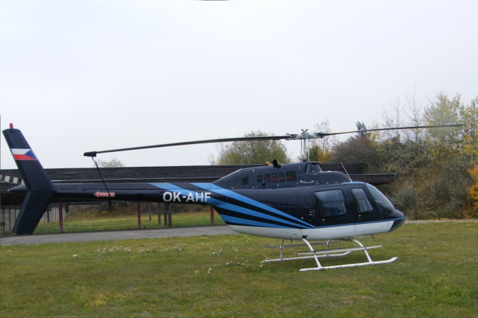 Bell 206B JetRanger III OK-AHF