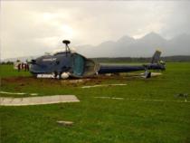 Havária vrtuľníka Mi-8 na Letisku Poprad