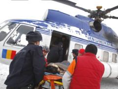 Zima 2012: Záchranárske vrtuľníky v akcii