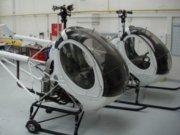Nové vrtuľníky DSA - Schweizer 269 C-1