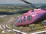 Vrtuľníky na Veľkej cene F1 v Silverstone