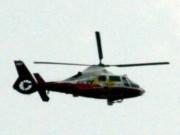 Vrtuľník CCTV nad čínskym Pekingom