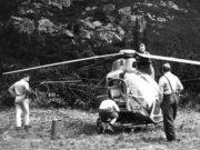 Havária vrtuľníka Z-35 pri Popradskom plese vo Vysokých Tatrách
