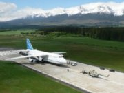 Dávid a Goliáš pod Tatrami: Antonov An-124 vs vrtuľníky Mi-17 a Agusta