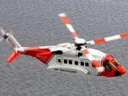 Vrtuľník pobrežnej hliadky Veľkej Británie