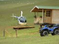 Robinson R-22 Beta - Novozélandská farma Modrová