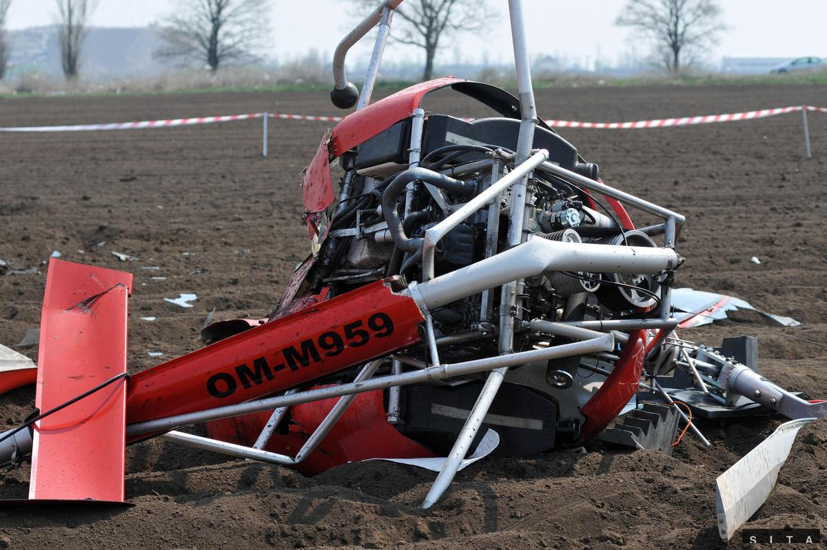 Pri Trnave spadol ultraľahký vrtuľník Dynali H2S OM-M959, pilot neprežil