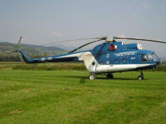 Vrtuľníky na Slovensku v rokoch 1997 - 2007