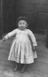 Dedo Mráz keď bol ešte malé ufúľané dieťa